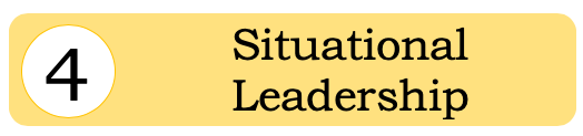 Our team members receive situational leadership training. Meaning that they are able to see hands on how effective their leadership style is currently, and how to adapt their leadership style to impact groups and individuals alike.