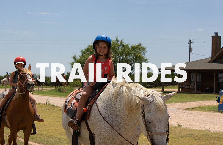 Hidden Falls Ranch has a beautiful team of trail horses that campers fall in love with every week. Our wranglers lead campers on horseback through the West Texas landscape with a colorful view of Palo Duro Canyon at the halfway point.