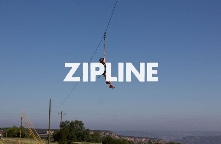We have yet to see someone frown on the zipline.