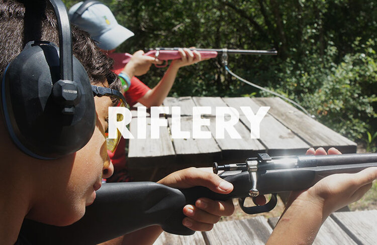READY…AIM…FIRE!!  Polish your marksmanship on our rifle range with a BB gun or .22 rifle. Our well trained staff will make sure you have a great time showing your skills.