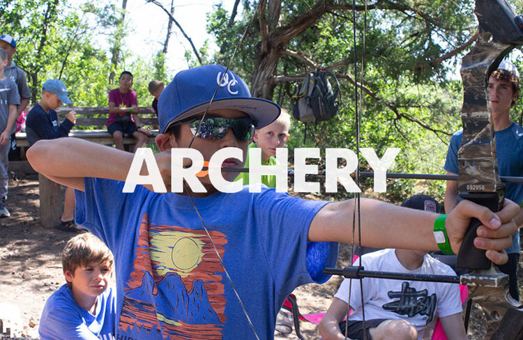 Test your focus on our archery range and see if you can get a bullseye.