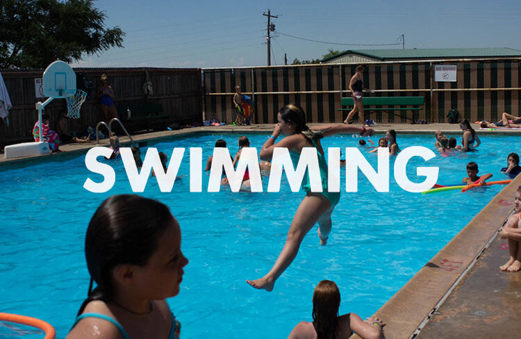 It wouldn't be summer camp without a whole bunch of pool parties!