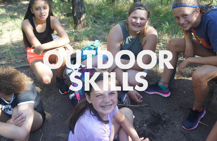 If you're going to be outside, you better know how to spot the important things around you. Our staff will teach you all about plant and animal life in and around the canyon. You'll even get to learn the basics of building a campfire.