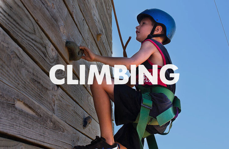 Take your bravery out for a spin on our 30-foot climbing tower. Campers have the option of climbing either of our two climbing walls.