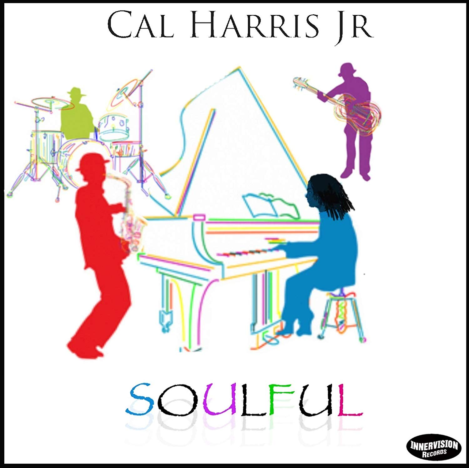 "SOULFUL - Cal Harris Jr. returns with his long awaited 3rd Release ""Soulful"". This collection of emotionally captivating instrumentals speaks volumes without saying a word. His first album on the Innervision Records label includes the #1 hits ""Soulful"" and ""Timeline."" The record features guest performances by Jeff Lorber (keys), Ted Belledin (sax), Mel Brown (bass), Shem von Schroeck (bass) and Innervision label mate Blake Aaron (guitar).Learn More"