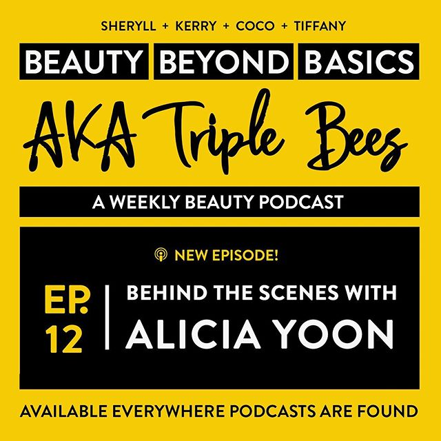Our season finale just dropped and we are joined by very special guest, Alicia Yoon (@aliciayoon212) Founder & CEO of @PeachandLily — and she shares what really goes on behind-the-scenes in beauty product development.  Also, on this weeks Raggedy Report we discuss the line between cultural appropriation and appreciation. ⁣ ⁣ Did you listen to the new episode yet? What was your favorite part? 🎧💕🎤⁣ ⁣ ⁣ ⁣ #beautybeyondbasics #triplebeespod #podcast #peachandlily #peachslices #zerocompromises #beauty #skincarecommunity #beautyproducts #productdevelopment #behindthescenes #beautybloggers #bbloggers #skincare #kbeauty #beautycommunity #beautygram #beautynews ⁣