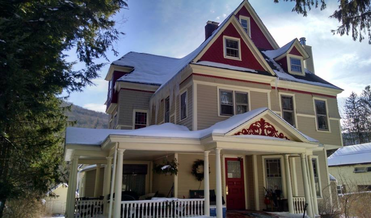 Fleischmanns, NY (less than 5 minutes to Spillian Venue)   This Queen Anne Victorian features 8 guest rooms and a 2-bedroom suite.