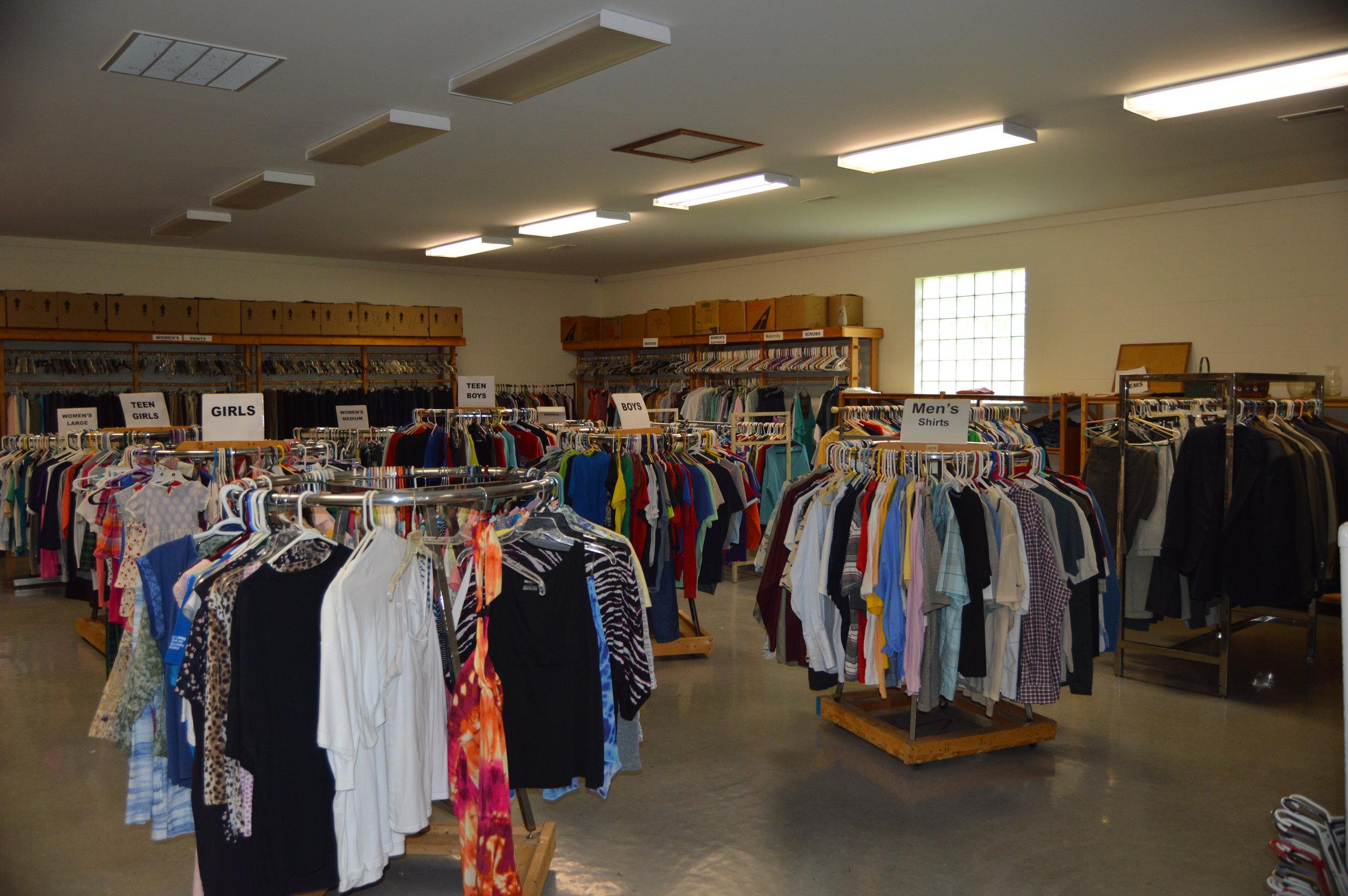 Clothing Closet Interior