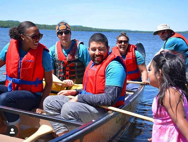 #Throwback to when #OceanBridge youth connected with Red Rock Indian Band for #NationalIndigenousPeoplesDay. @oceanwise #NatureForAll #LakeSuperior . . 📸🌿 Thanks for sharing, @jamminaube1!