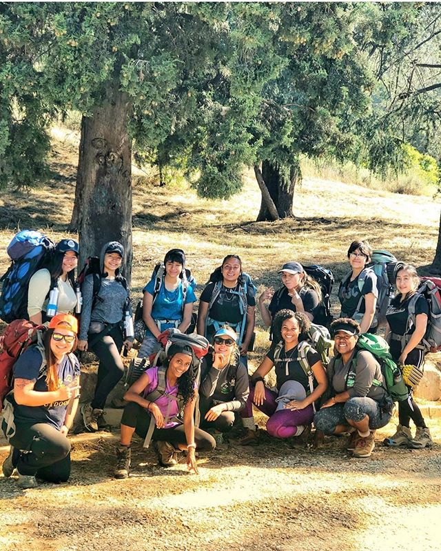 An all women POC nine day backpacking trip? Sounds like fun!! 🚣🏿‍♀️🌿 . . Thanks for sharing your adventure, @m00niquee!