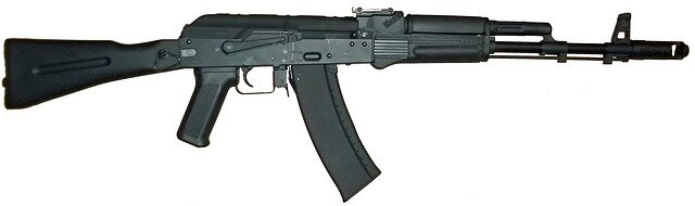 AK 47 , (Same Gun Used In El Paso Shooting- Killing 22 People)