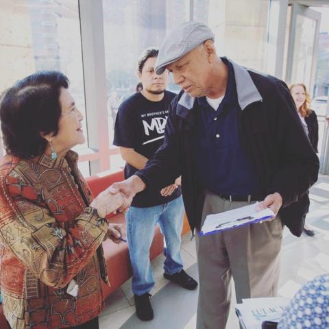 Dolores Huerta at FWISD Community Day