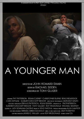 A Younger Man - Garnering six festival awards, this beautiful love story was written by Rachael Seiden, adapted for the screen by Tony Glazer, directed by John Howard Swain, and under the technical and visual expertise of Anthony Lenzo. Taught in New York University's undergraduate writer's program, George Washington's Masters in Psychology program, and most recently used by Volunteer Services for the Hospice of Chesapeake, Maryland as part of their outreach program.