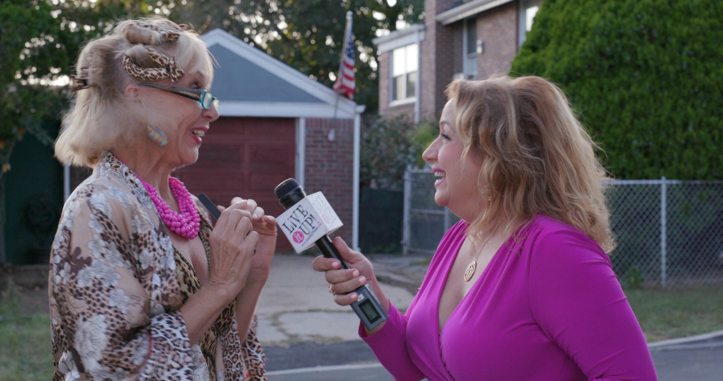 St. Joseph with Donna Drake from Live It Up.jpg
