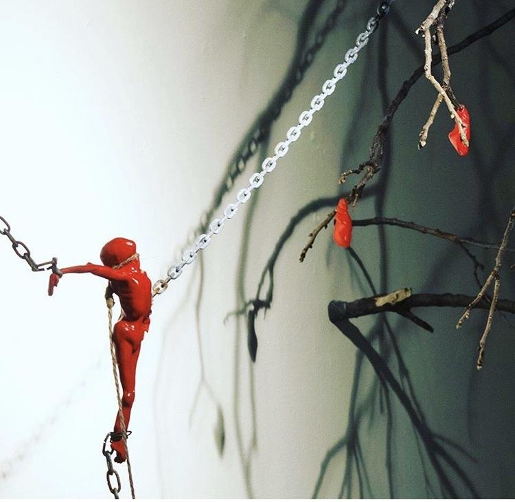 Metamorphosis of the Soul and Mind by Bernardo Vallarino, Mixed media, Installation