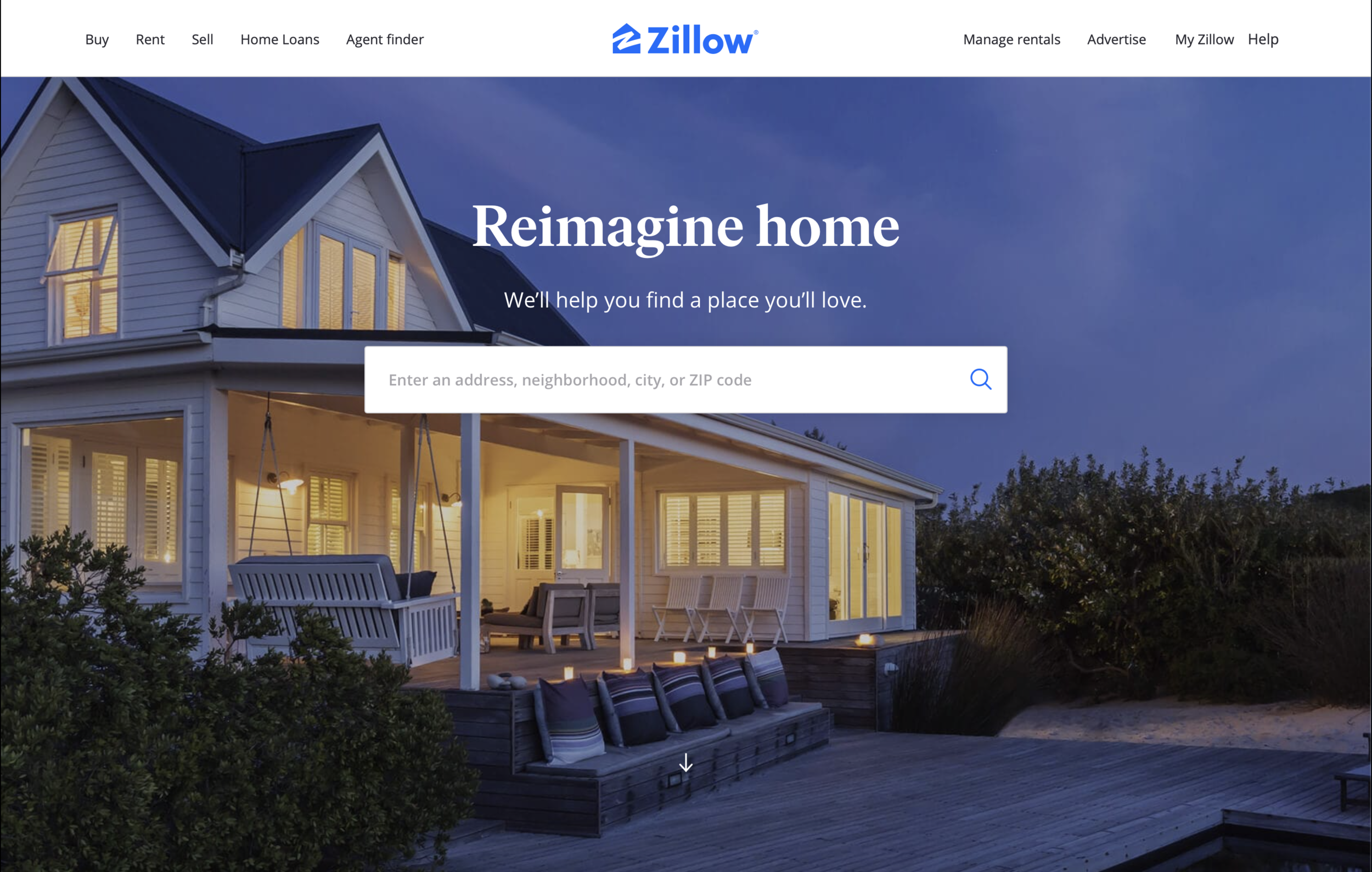create a listing on Zillow