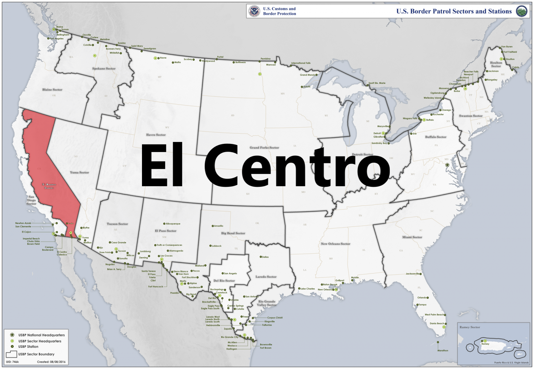 Border patrol sectors map - El Centro.png