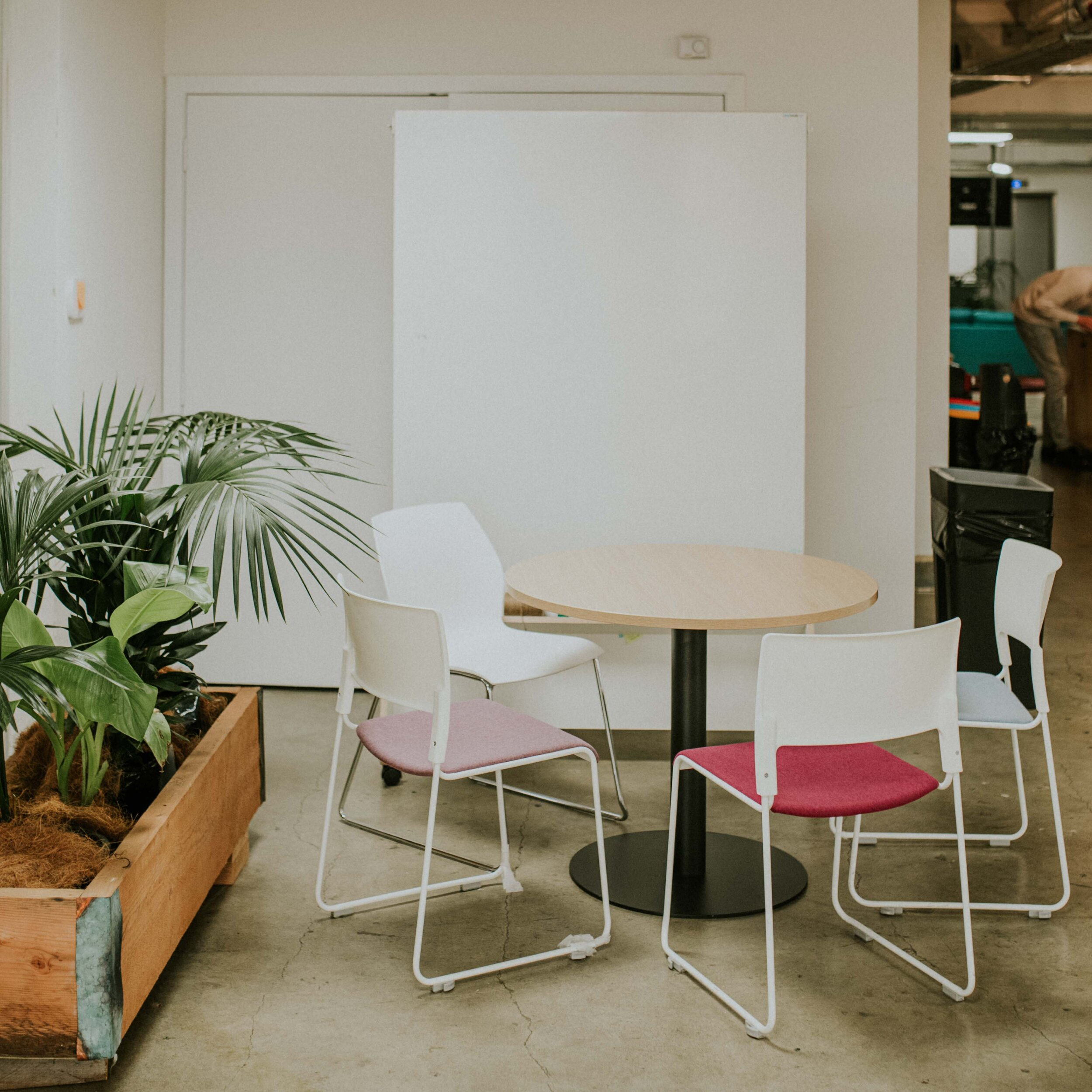 Small Meeting Room | $45/hour - The small meeting room has capacity for up to seven people. Equipped with a whiteboard and screenPrices are GST inclusive.