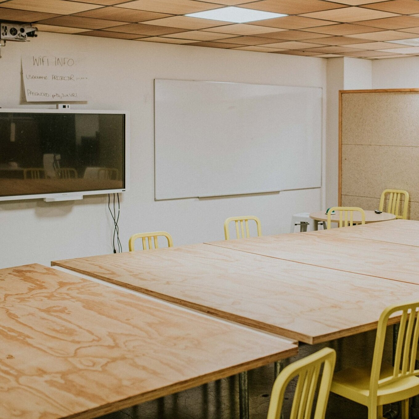 Board Room | $55/hour - $195 - half day | $385 - full dayThe board room is spacious and fully equipped with whiteboards and projection facilities. The room can hold up to 30 people.Prices are GST inclusive.