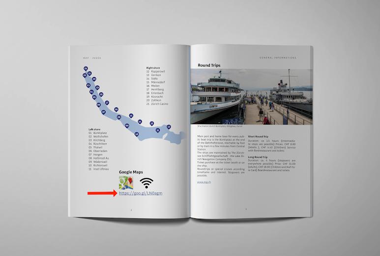 Zürichsee Guide mit Googel Map und Sehenswürdigkeiten (point of interest)