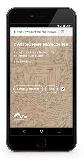 Die  Zwitscher-Maschine. Journal on Paul Klee / Zeitschrift für internationale Klee-Studien , ISSN 2297-6809.