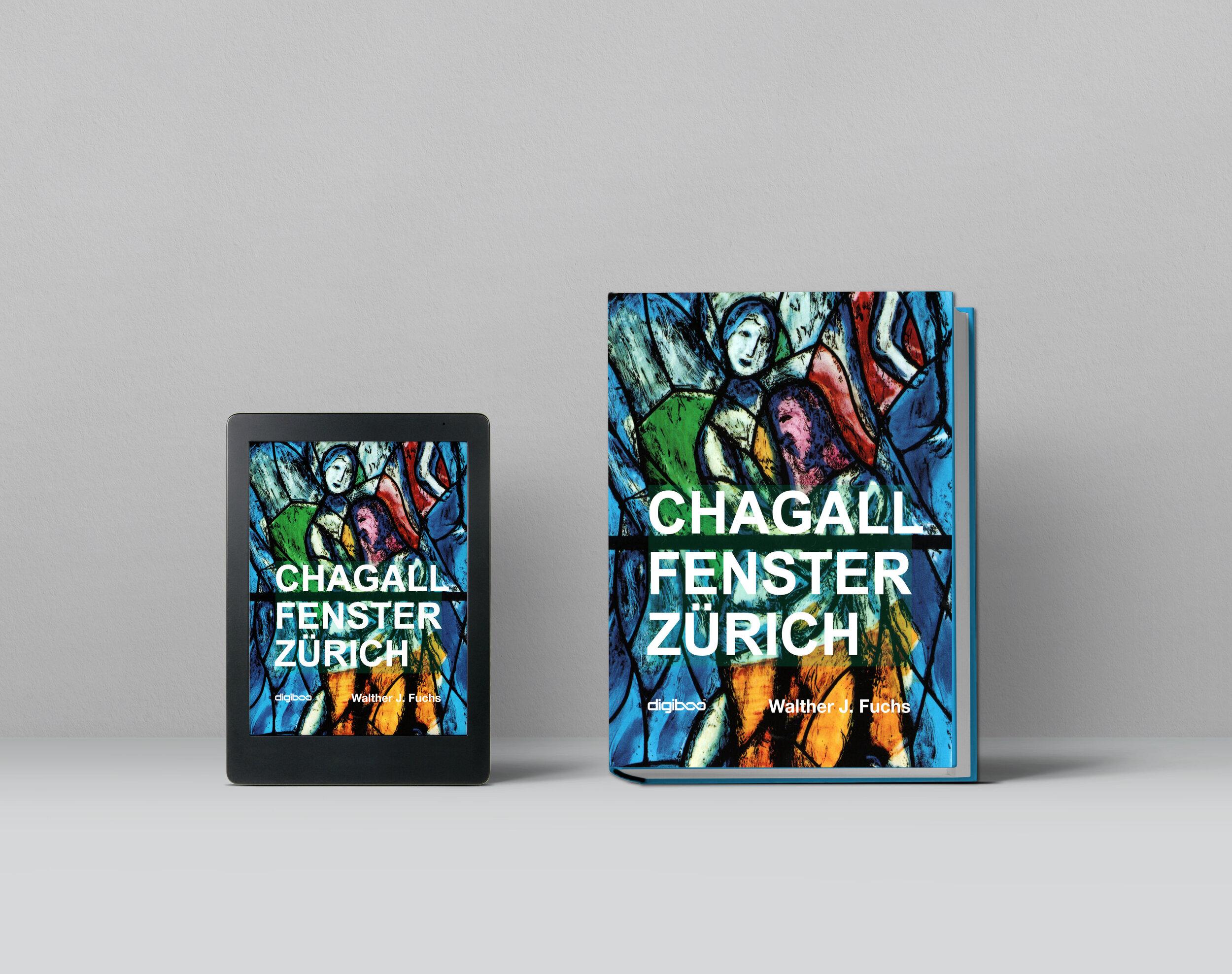 Chagall Fenster Zürich, Print und E-Book