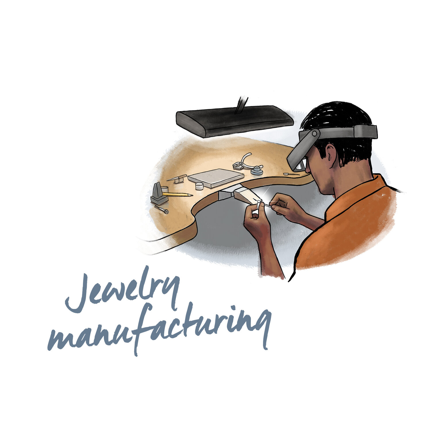 SEVENTH STEP - DiamondByway jewels have been manufactured by RJC certified entities, with RJC CoC gold and finished in Barcelona.