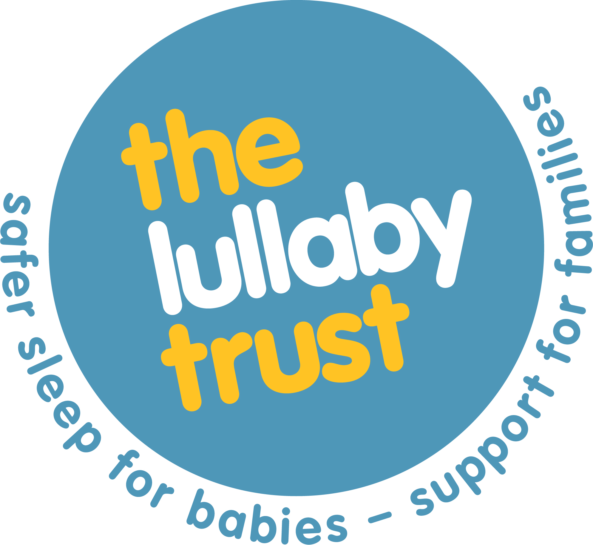 The Lullaby Trust is a charity which both raises awareness of sudden infant death syndrome (SIDS), provides expert advice on safer sleep for babies and offers emotional support for bereaved families. -