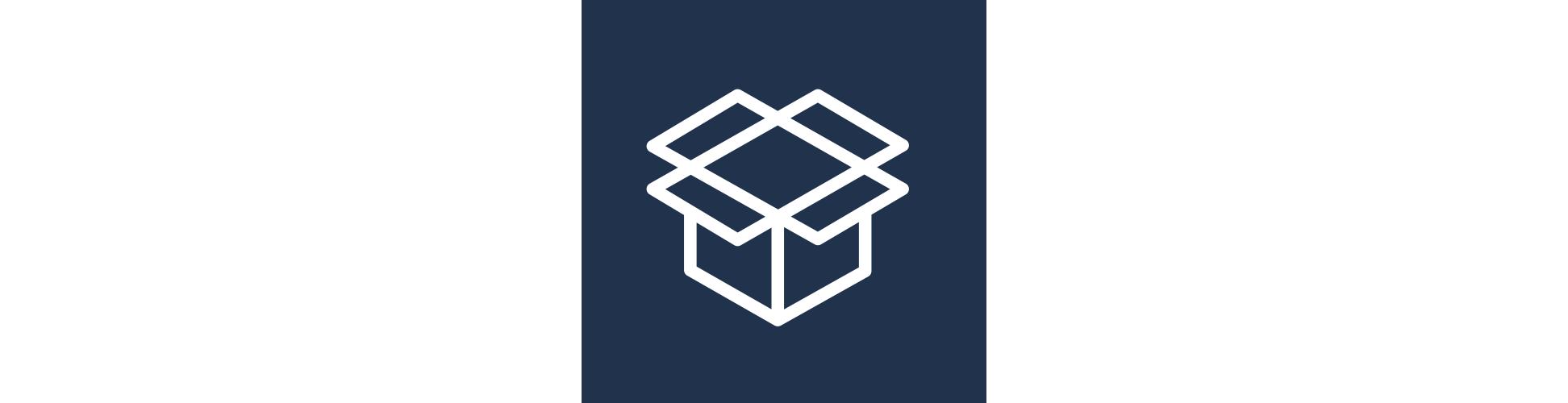An open box icon