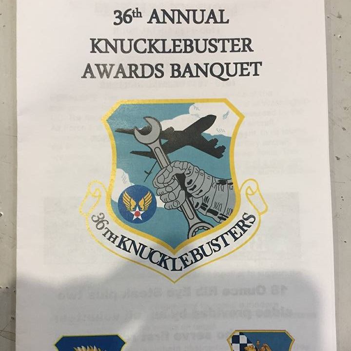 October 14, 2017   Knucklebuster Awards Banquet, McConnell Air Force Base