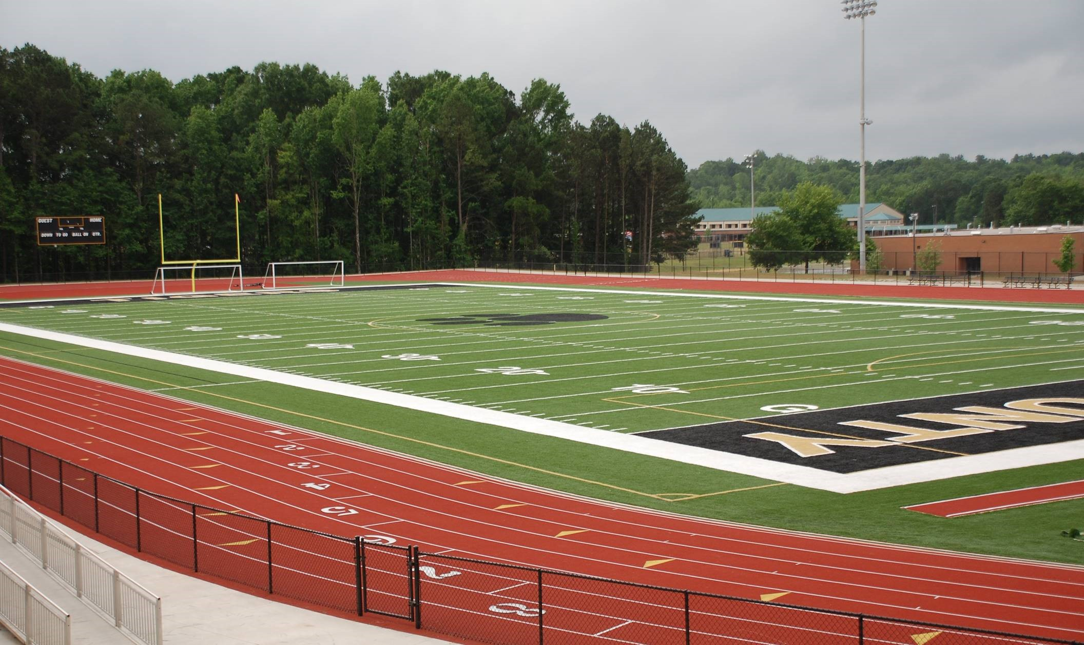 Athletic facilities - We are dedicated to communities throughout Georgia who hope to enhance their park and recreational space. Our aim is to create enriched lifestyles through community enhancement for more active living. As a full-service recreational contractor, we have completed over $500 million in construction projects, which includes athletic fields, tennis complexes, parks and trails, hardscapes and design build projects. We are proud members of The American Sportsbuilders Association, The National Recreation and Park Association, and Atlanta's own Park Pride.