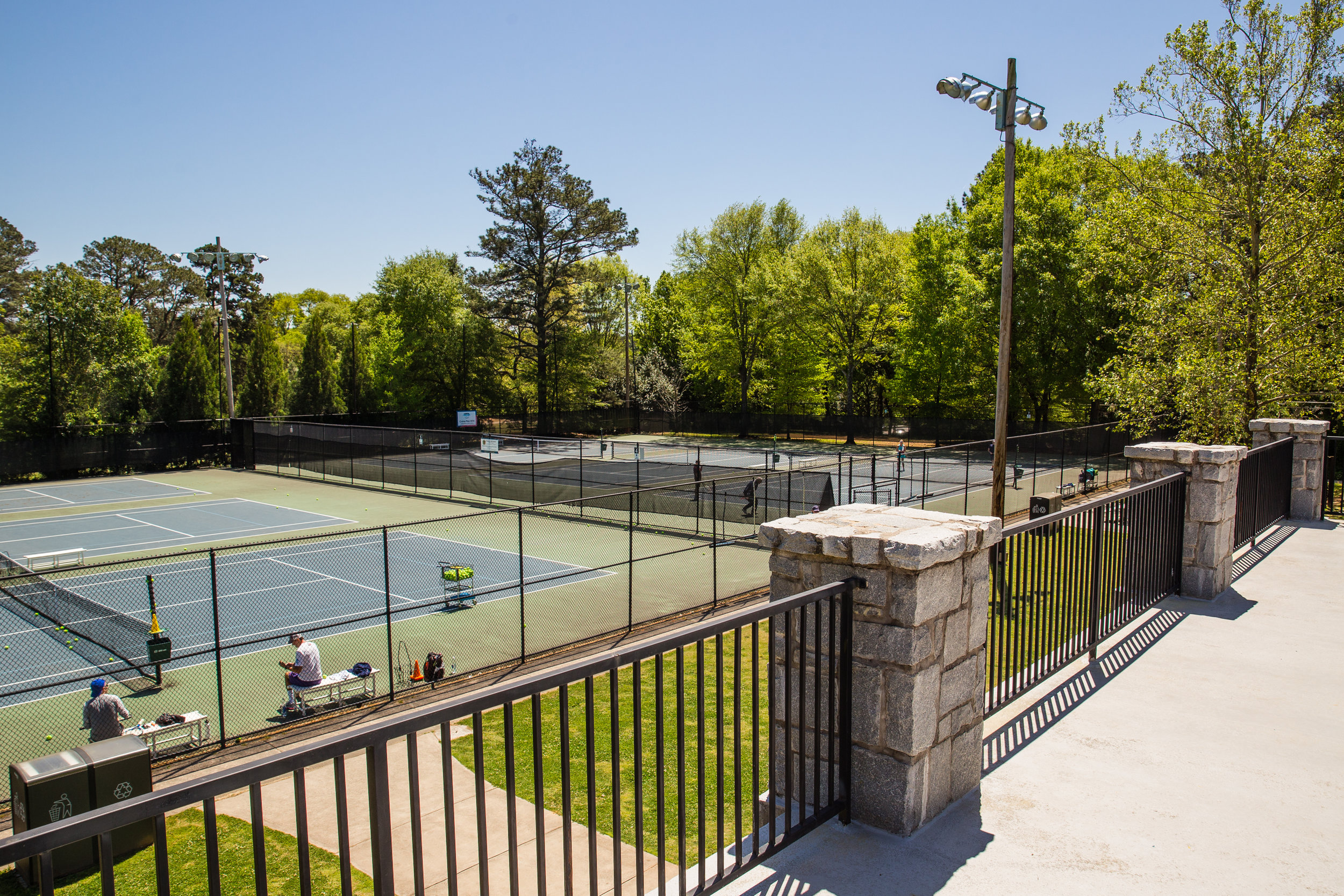 Chastain Tennis Center - ClientCity of Atlanta Parks & RecreationLocationAtlanta, GAContract Value$1.06 millionCompletion DateJune 2010Brief Project DescriptionAstra Group worked with the City of Atlanta to design and build a new tennis center and renovate 12 tennis courts. The project involved the demolition of the existing tennis center, earthwork, infrastructure improvements including underground detention and landscaping. In addition, a new Earthcraft certified new tennis center was constructed