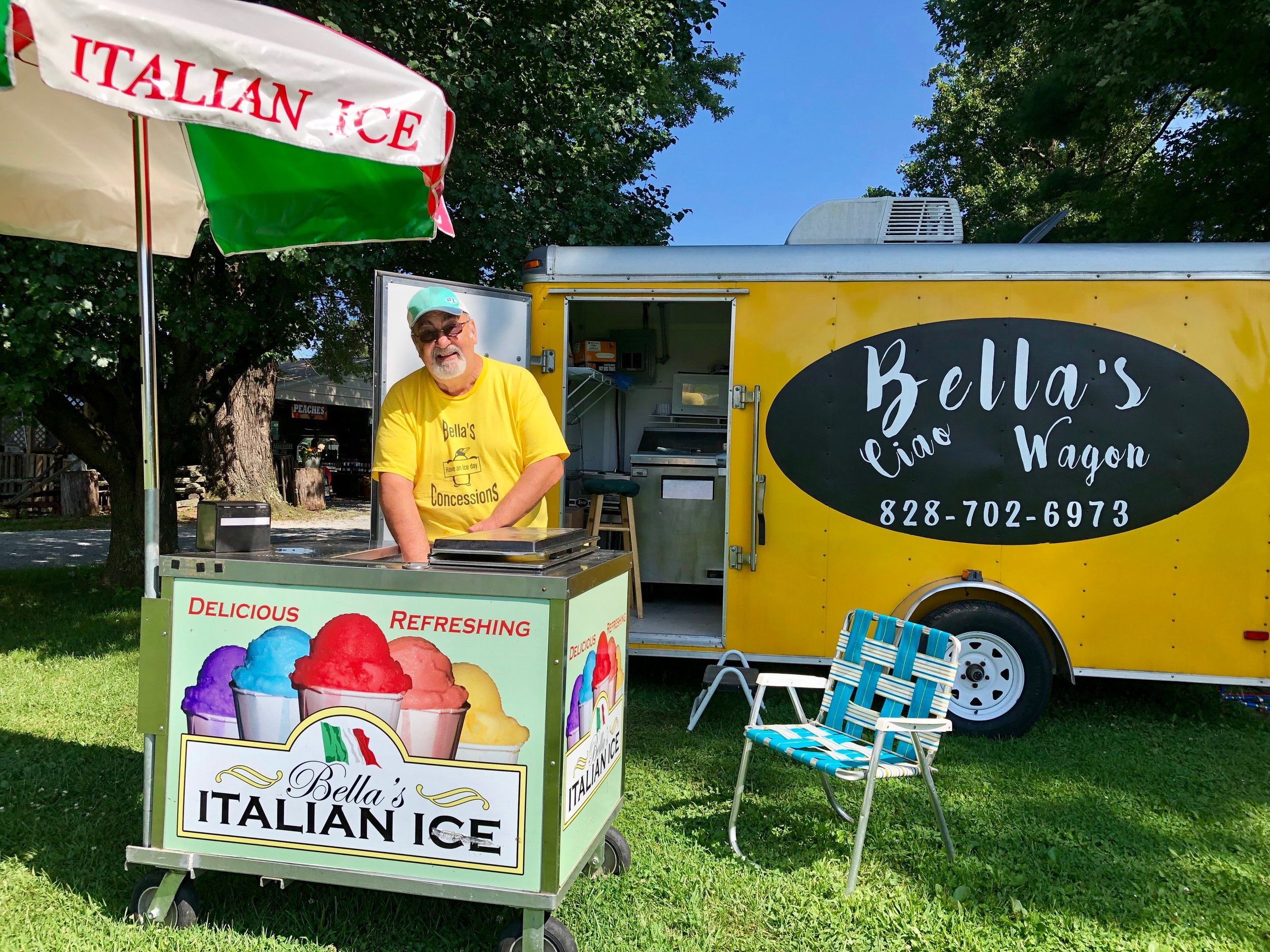 On the weekends, stop by for yummy Italian Ice and fresh cooked lunch favorites! Hours will vary, call ahead to verify dates/times.
