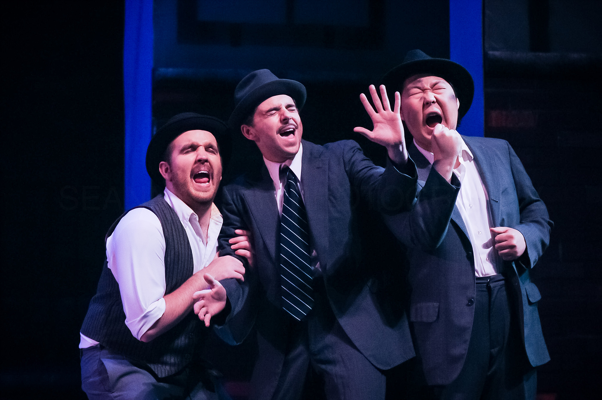 Sean Meyers Photography   Guys and Dolls , 2015  playing Nicely-Nicely Johnson
