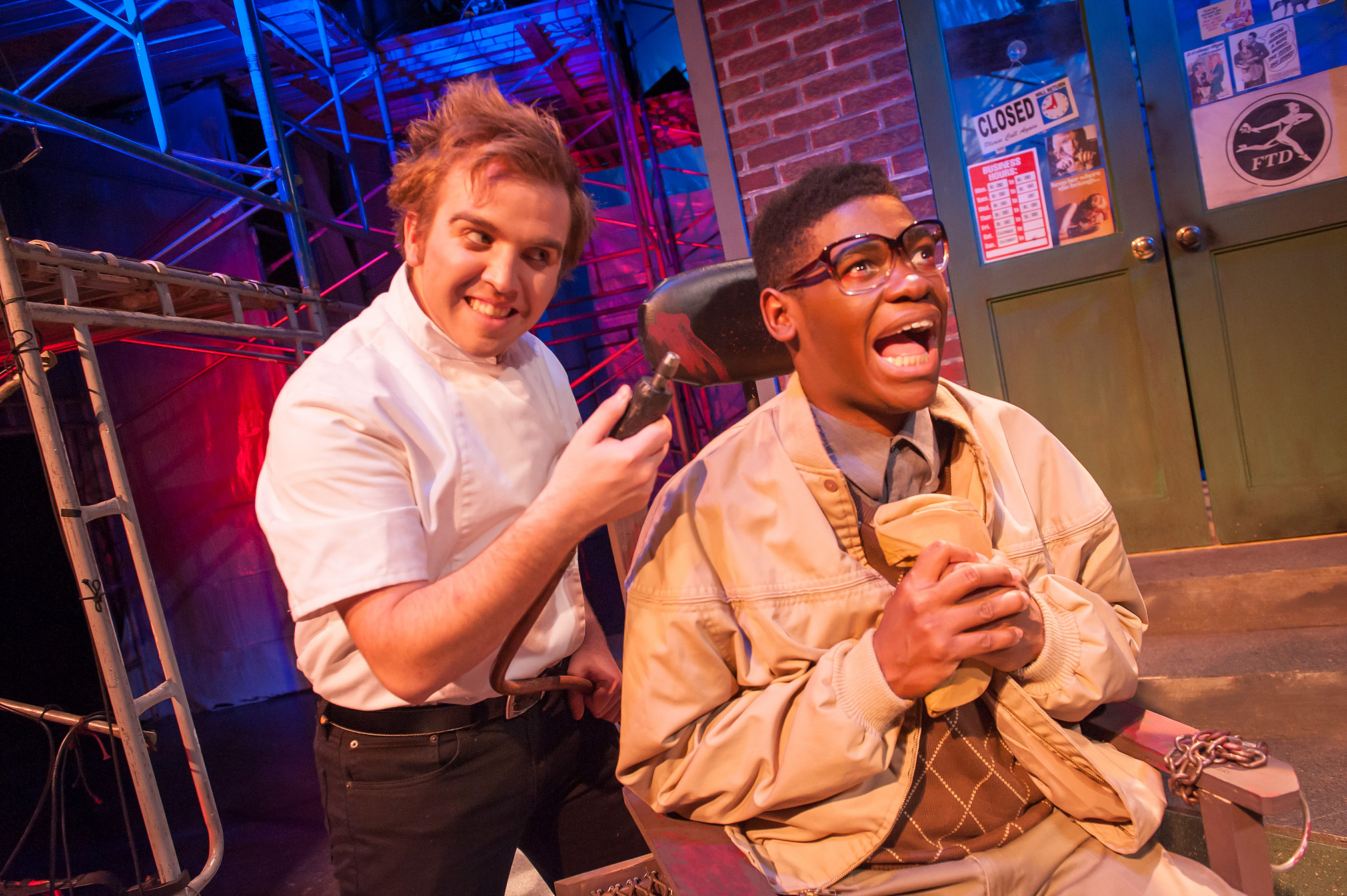 Sean Meyers Photography   Little Shop of Horrors , 2013  playing Orin, the dentist