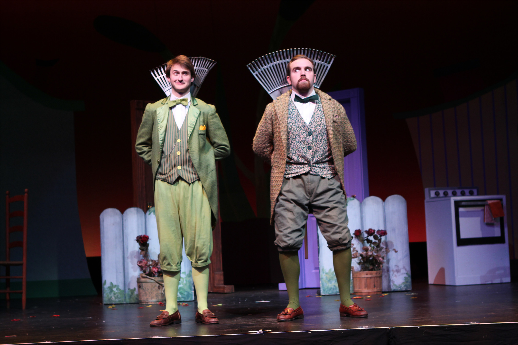 photo by Beth Curley/Julian Wiles   A Year with Frog and Toad , 2016  playing Toad