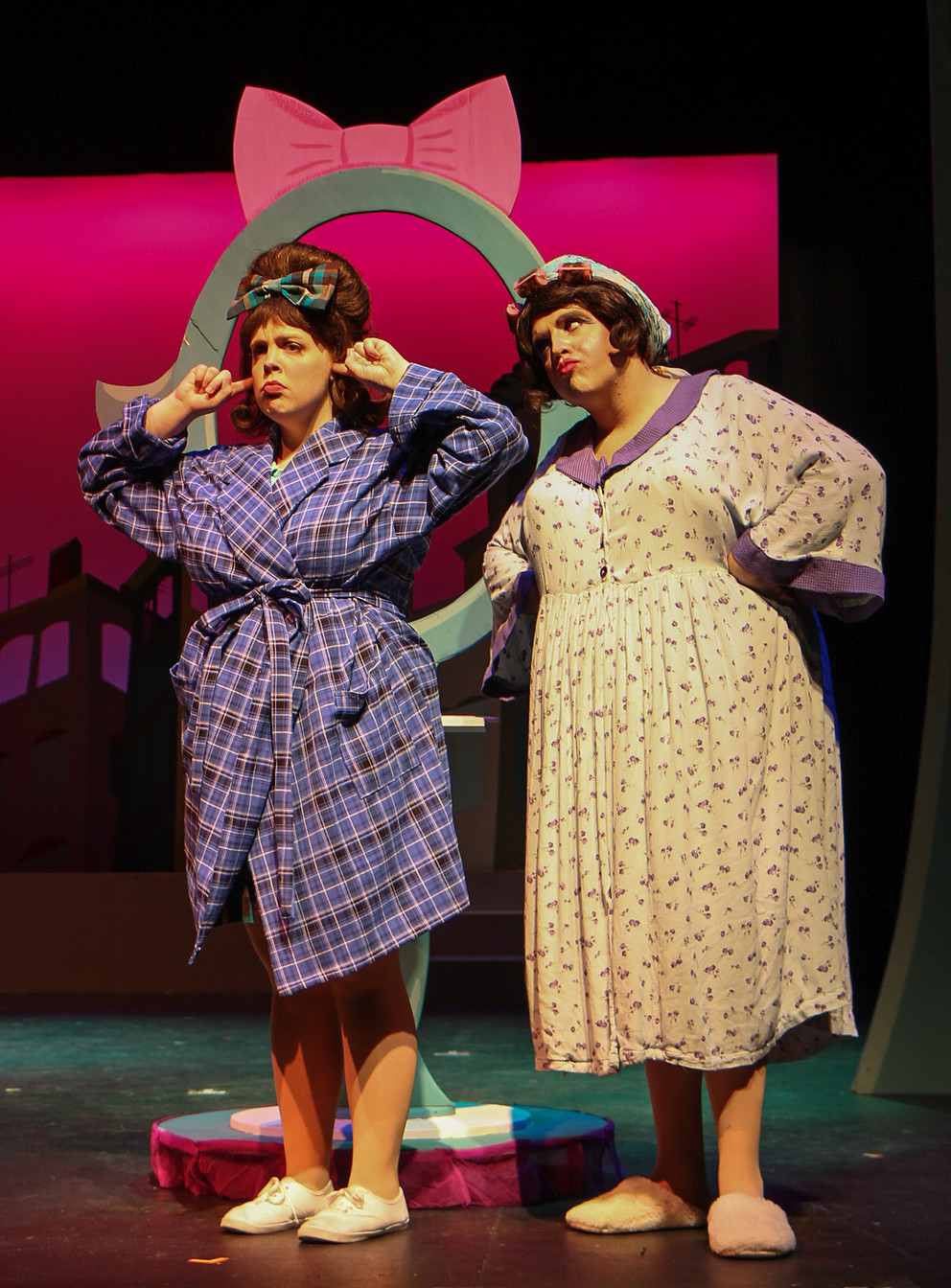 photo by Beth Curley/Julian Wiles   Hairspray , 2016  playing Edna