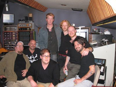 Biffy and Josh Homme