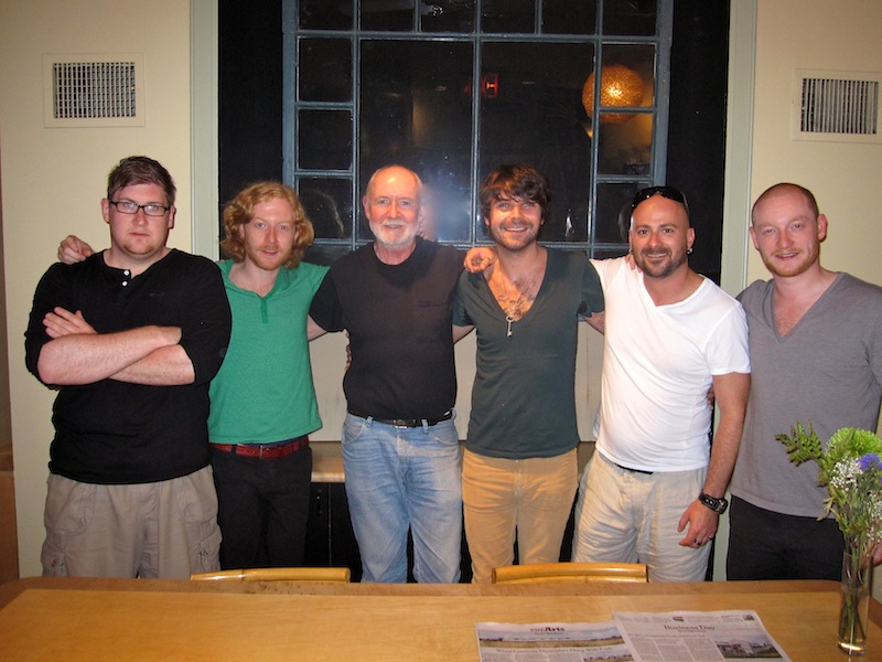 Biffy and Andy Wallace