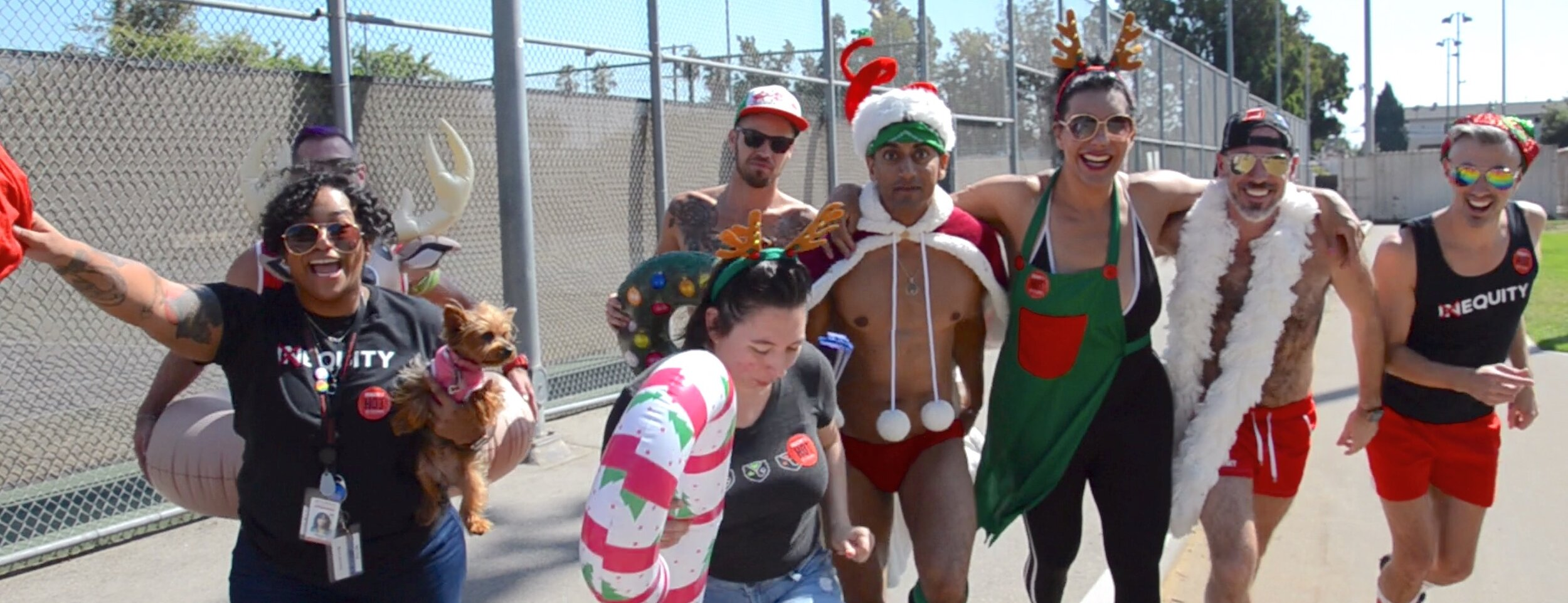 Santa Strut is coming to town! -