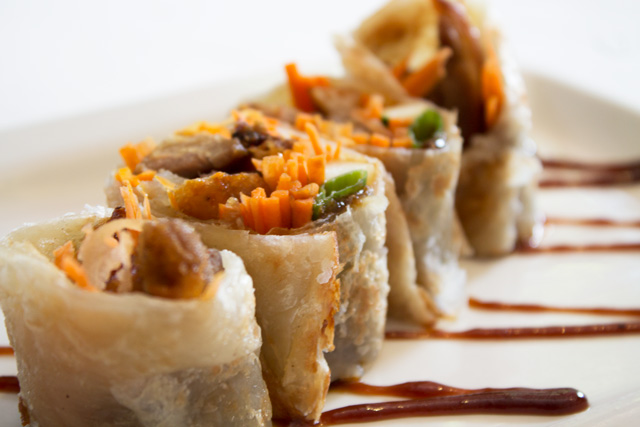 Duck Roll appetizer
