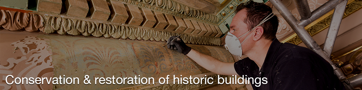 Conservation and restoration of historic buildings
