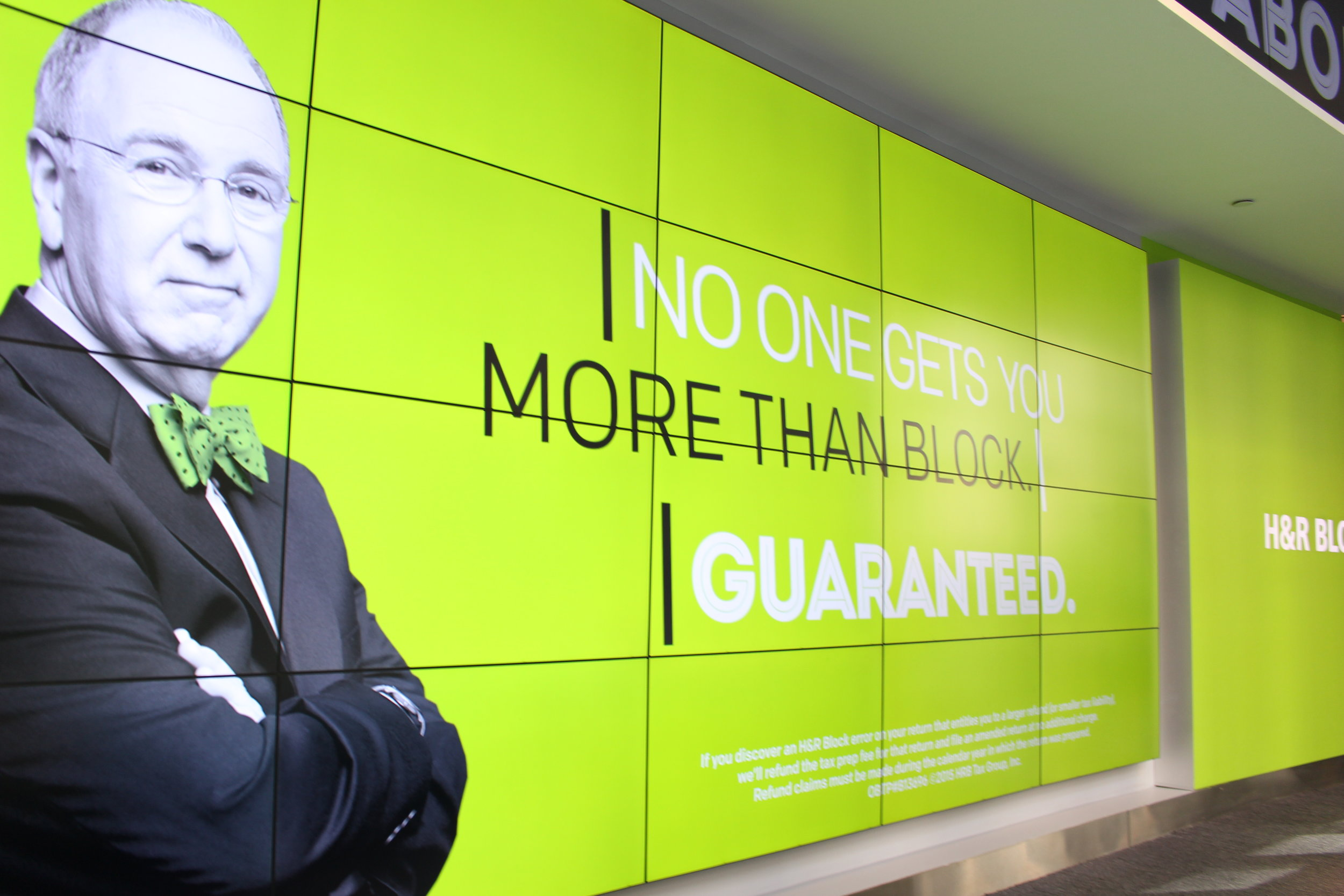H&R Block Flagship Office, Time Square New York City. Photo Credit, August Hour Inc.