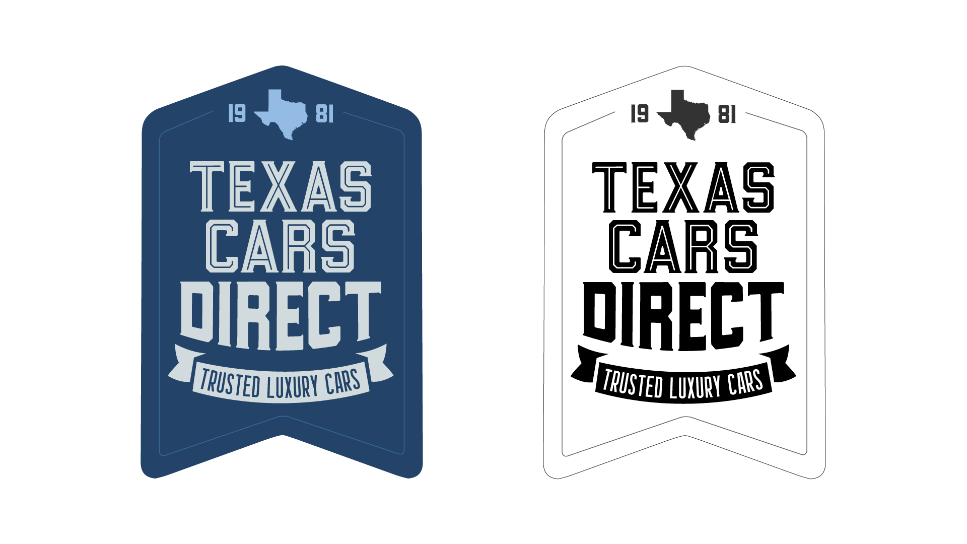 Texas Cars Direct — Brand ID, Logo Design