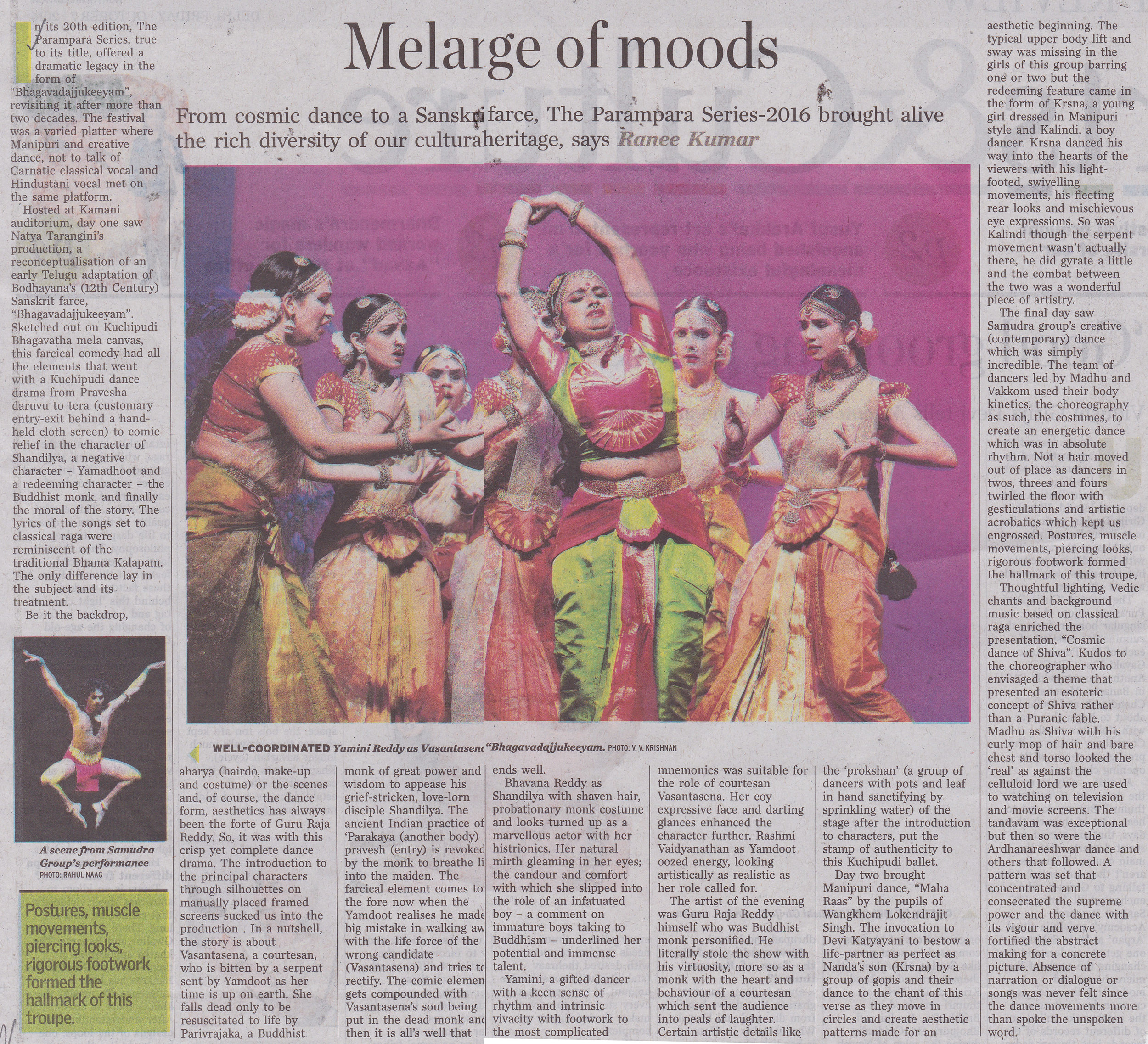 The Hindu Review, Delhi 2016