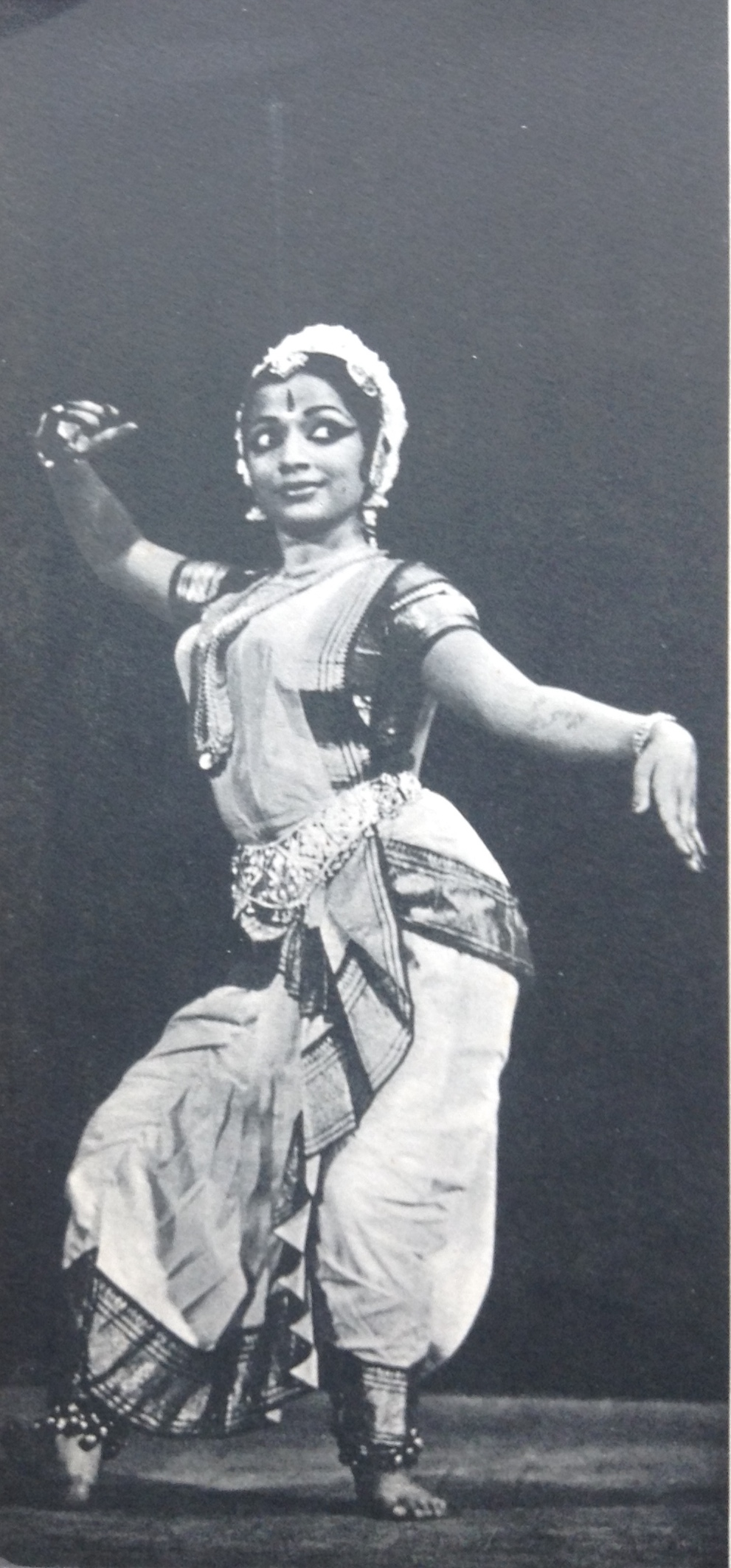 Lasya (feminine, lyrical and graceful movements)