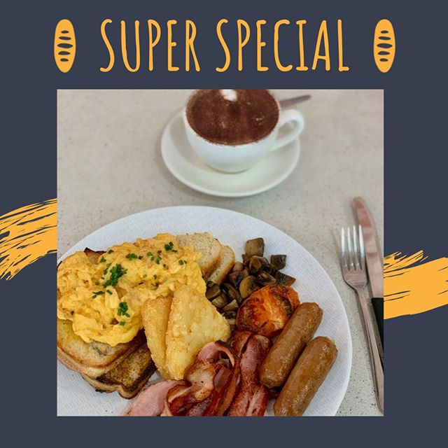Saturdays are for good laughs and good food, so we've got a good deal for you 👏🏼 Enjoy our big brekkie and a medium coffee for just $16 or upgrade your coffee to a large for an extra $1! With eggs your way, crispy bacon and hashbrowns, mushrooms, tomato and sausages you can't go wrong 🙌🏼 #parapbakery . ⁠⠀⠀⠀⠀⠀⠀⠀⠀⠀ .⁠⠀⠀⠀⠀⠀⠀⠀⠀⠀ .⁠⠀⠀⠀⠀⠀⠀⠀⠀⠀ .⁠⠀⠀⠀⠀⠀⠀⠀⠀⠀ .⁠⠀⠀⠀⠀⠀⠀⠀⠀⠀ .⁠⠀⠀⠀⠀⠀⠀⠀⠀⠀ #darwin #darwinlife #darwinstyle #darwincafe #darwinfoodies #darwinevents #darwinbakery #picnic #darwin #food #foodie #life #delicious #yummy #boundlesspossible #freshbread #bakedfresh #ntlife #darwinnt #tourismnt⁠ #mondayblues #monday #coffee #grinderscoffee