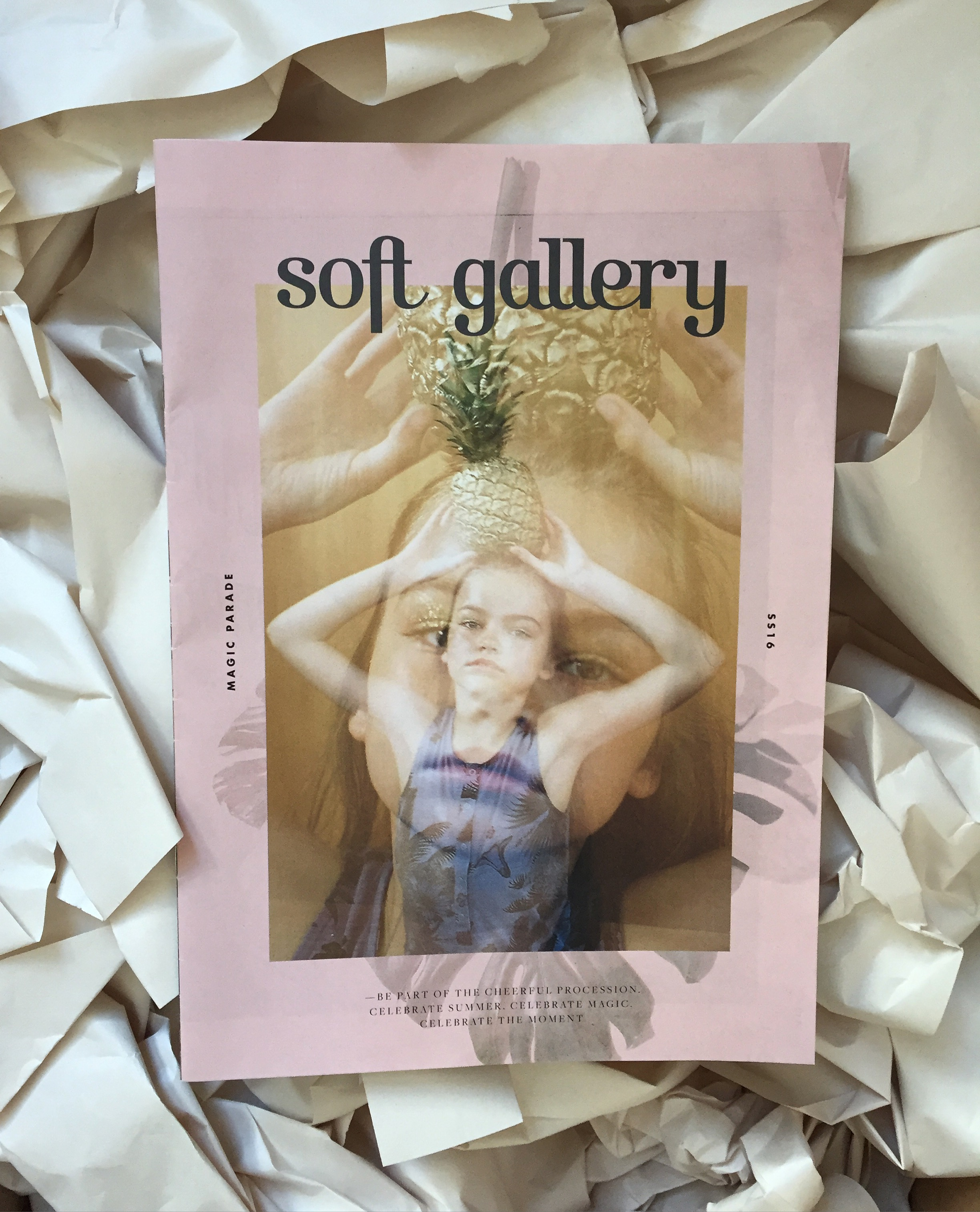Soft Gallery  Graphical design