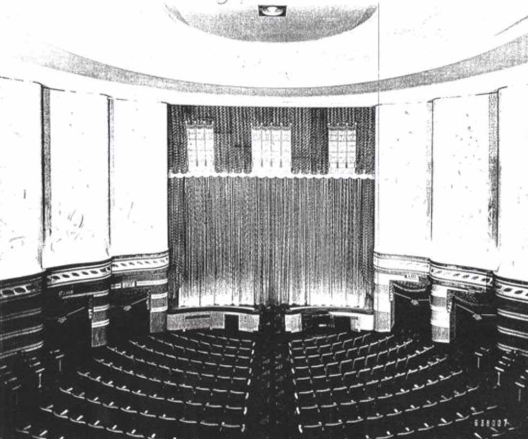 The Denis, circa 1938 - We will be re-building our historic theater as a thriving film and arts center for 21st-century patrons. When complete, the Denis will curate high quality films and programming, exhibit original art, and deliver a range of educational and community opportunities.