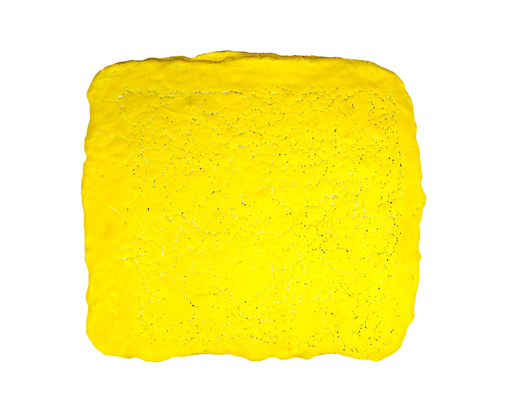 Yellow Crackle - Ceramic 43cm x 39cm x 1cm